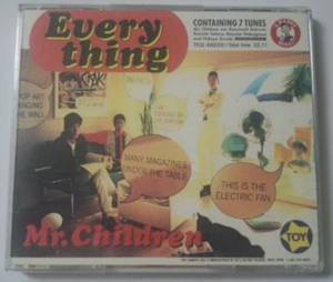 Mr.Children/Everything 初回限定盤